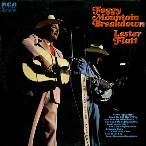 Lester Flatt Foggy Mountain Breakdown - vinyl LP