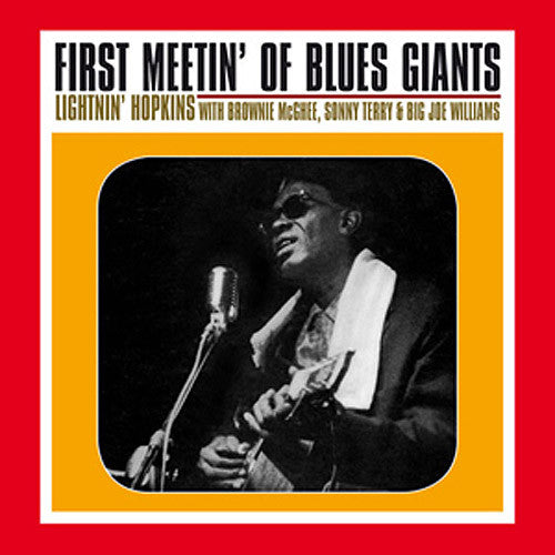 Lightinin' Hopkins First Meetin' Of The Blues Giants - vinyl LP