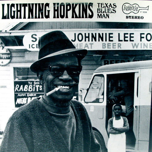 Lightning Hopkins Texas Blues Man - vinyl LP