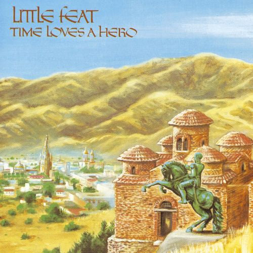 Little Feat Time Loves A Hero - vinyl LP
