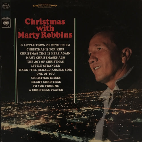 Marty Robbins Christmas With Marty Robbins - vinyl LP