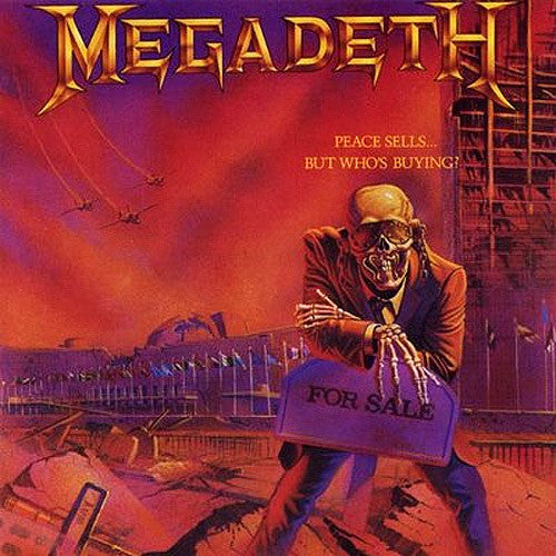 Megadeth Peace Sells But Whos Buying - vinyl LP