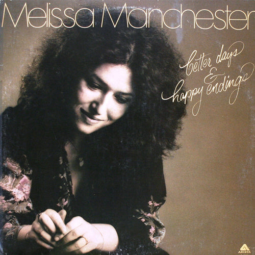 Melissa Manchester Better Days & Happy Endings - vinyl LP