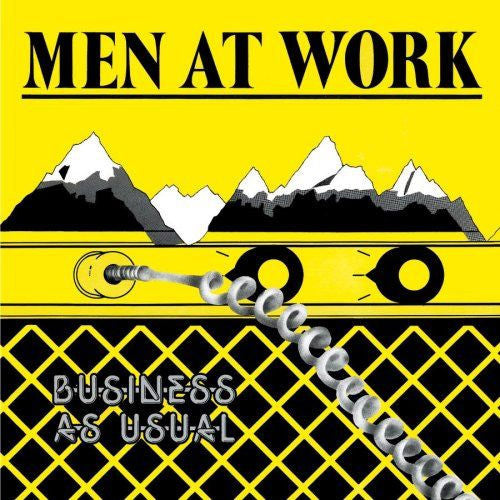 Men At Work Business As Usual - compact disc