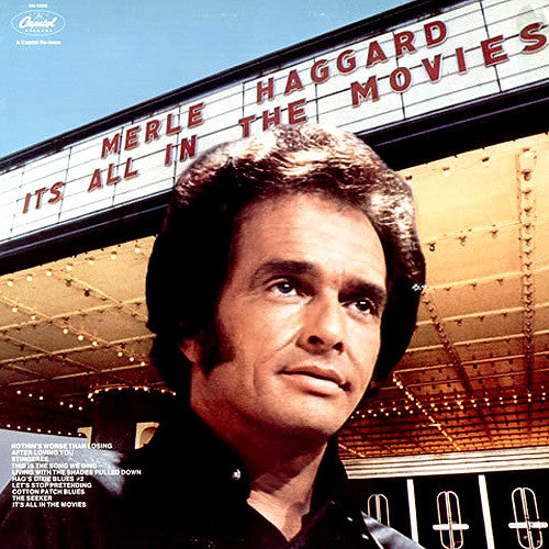 Merle Haggard It's All In The Movies - vinyl LP
