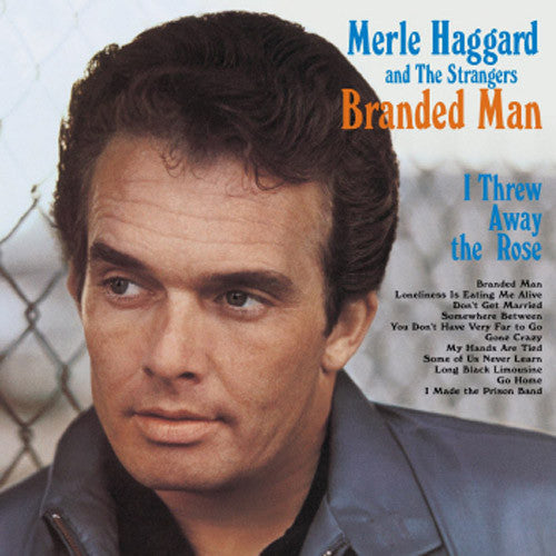 Merle Haggard and The Strangers Branded Man - vinyl LP