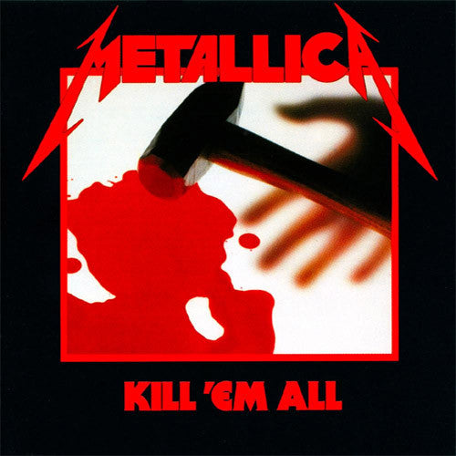 Metallica Kill 'Em All - vinyl LP