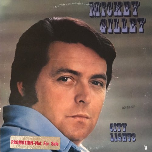 Mickey Gilley City Lights - vinyl LP