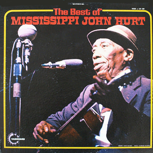 Mississippi John Hurt The Best Of Mississippi John Hurt - vinyl LP