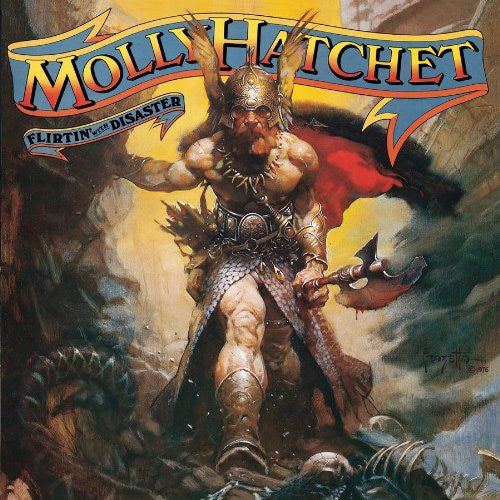Molly Hatchet Flirtin' With Disaster - vinyl LP