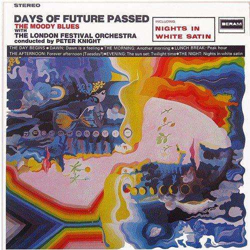 The Moody Blues Days Of Future Passed - vinyl LP