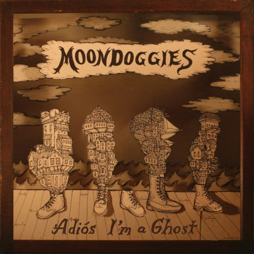 Moondoggies Adios I'm A Ghost - vinyl LP