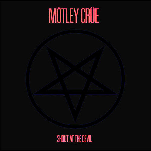 Motley Crue Shout At The Devil - vinyl LP
