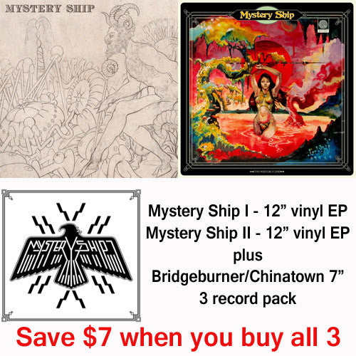 Mystery Ship vinyl EP pack plus 7 inch