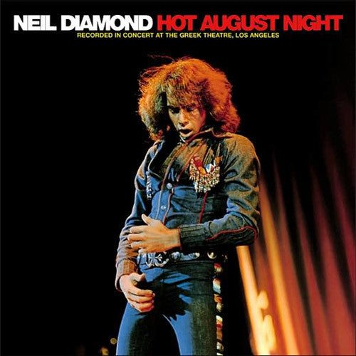 Neil Diamond Hot August Night - vinyl LP