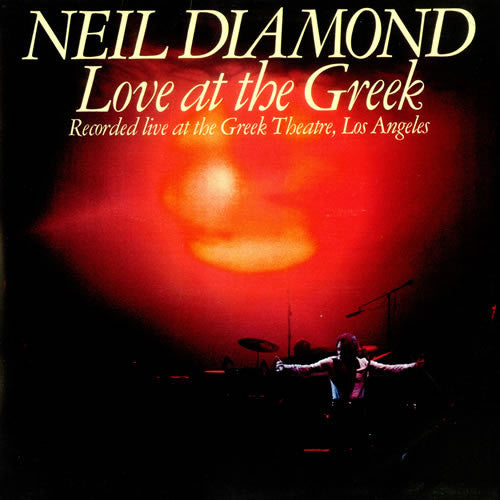 Neil Diamond Love At The Greek - vinyl LP