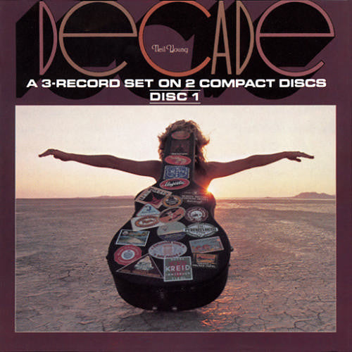 Neil Young Decade - compact disc
