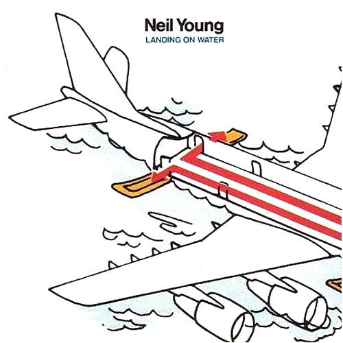 Neil Young Landing On Water - cassette