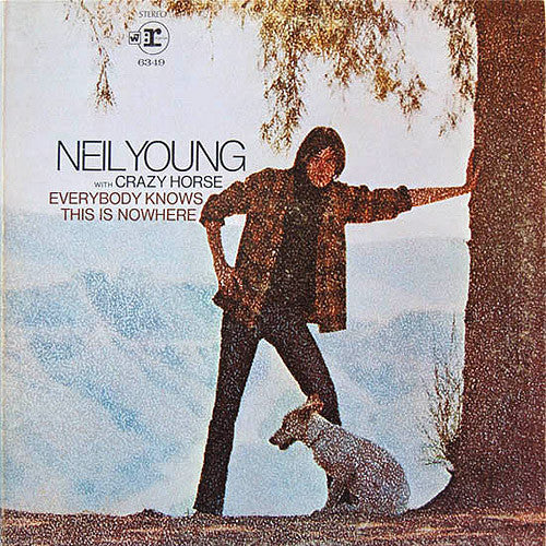 Neil Young with Crazy Horse Everybody Knows This Is Nowhere - cassette