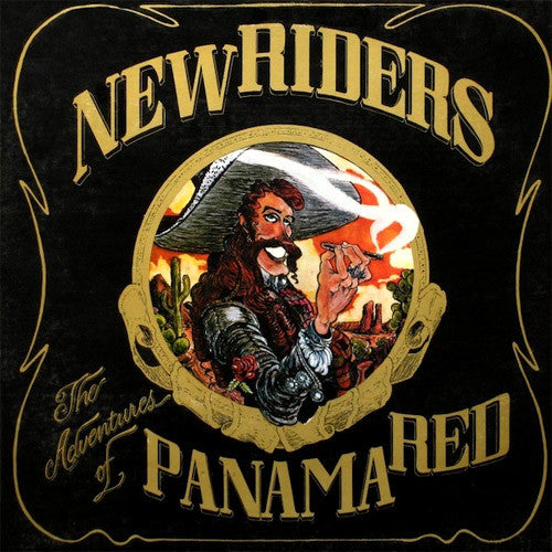 New Riders of The Purple Sage The Adventures of Panama Red - vinyl LP