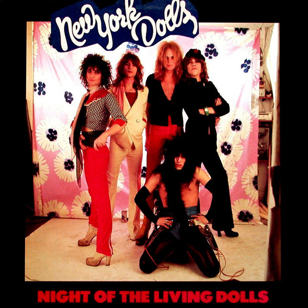 New York Dolls Night Of The Living Dolls - cassette