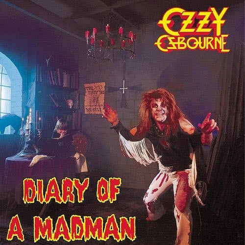 Ozzy Ozbourne Diary Of A Madman - vinyl LP