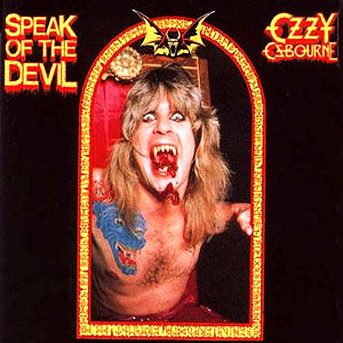 Ozzy Osbourne Speak Of The Devil - vinyl LP