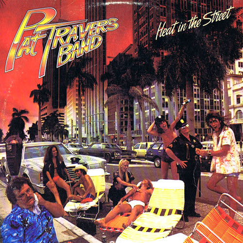 Pat Travers Band Heat In The Street - vinyl LP