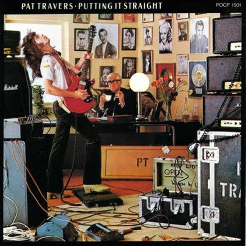 Pat Travers Putting It Straight - vinyl LP