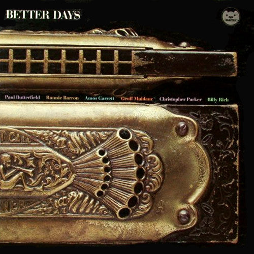 Paul Butterfield Better Days - vinyl LP