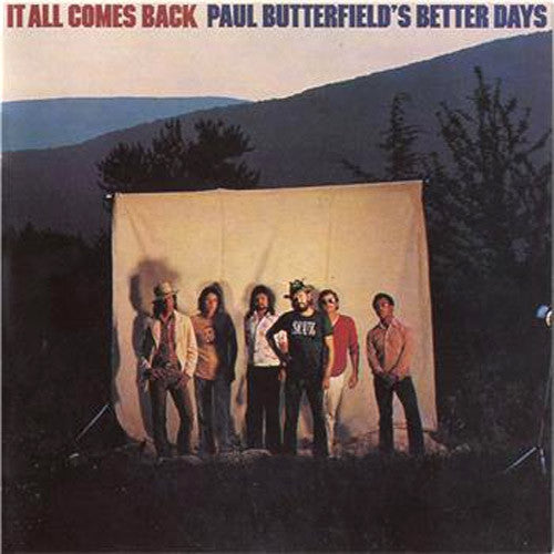 Paul Butterfield's Better Days It All Comes Back - vinyl LP