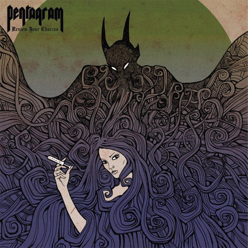 Pentagram Review Your Choices - picture LP