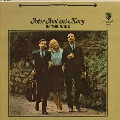 Peter Paul and Mary In The Wind - vinyl LP