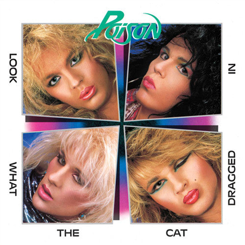 Poison Look What The Cat Dragged In - cassette