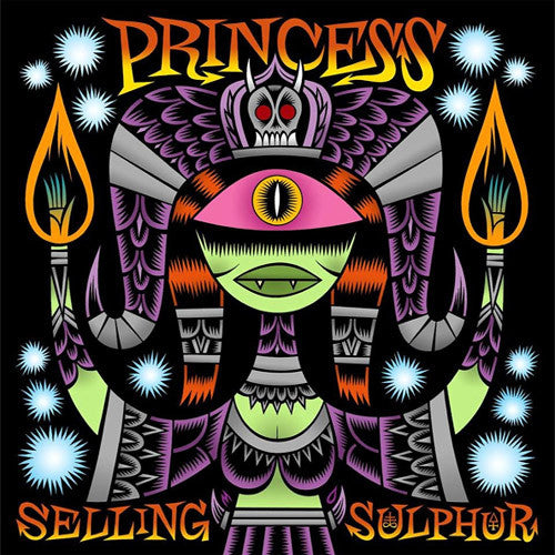 Princess Selling Sulphur - vinyl LP