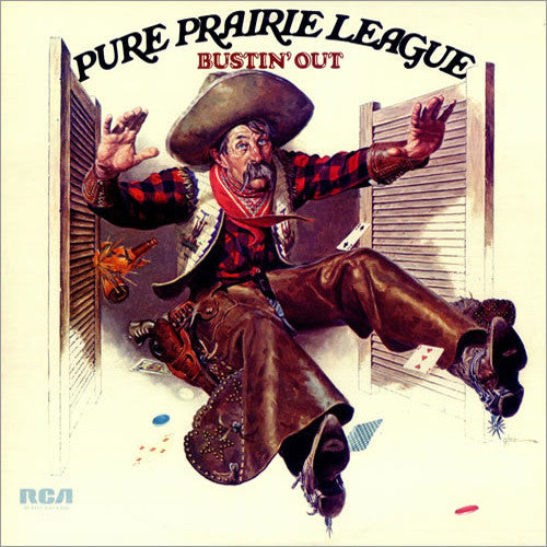 Pure Prairie League Bustin' Out - vinyl LP