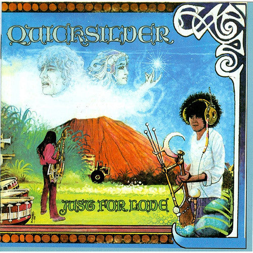 Quicksilver Messenger Service Just For Love - vinyl LP