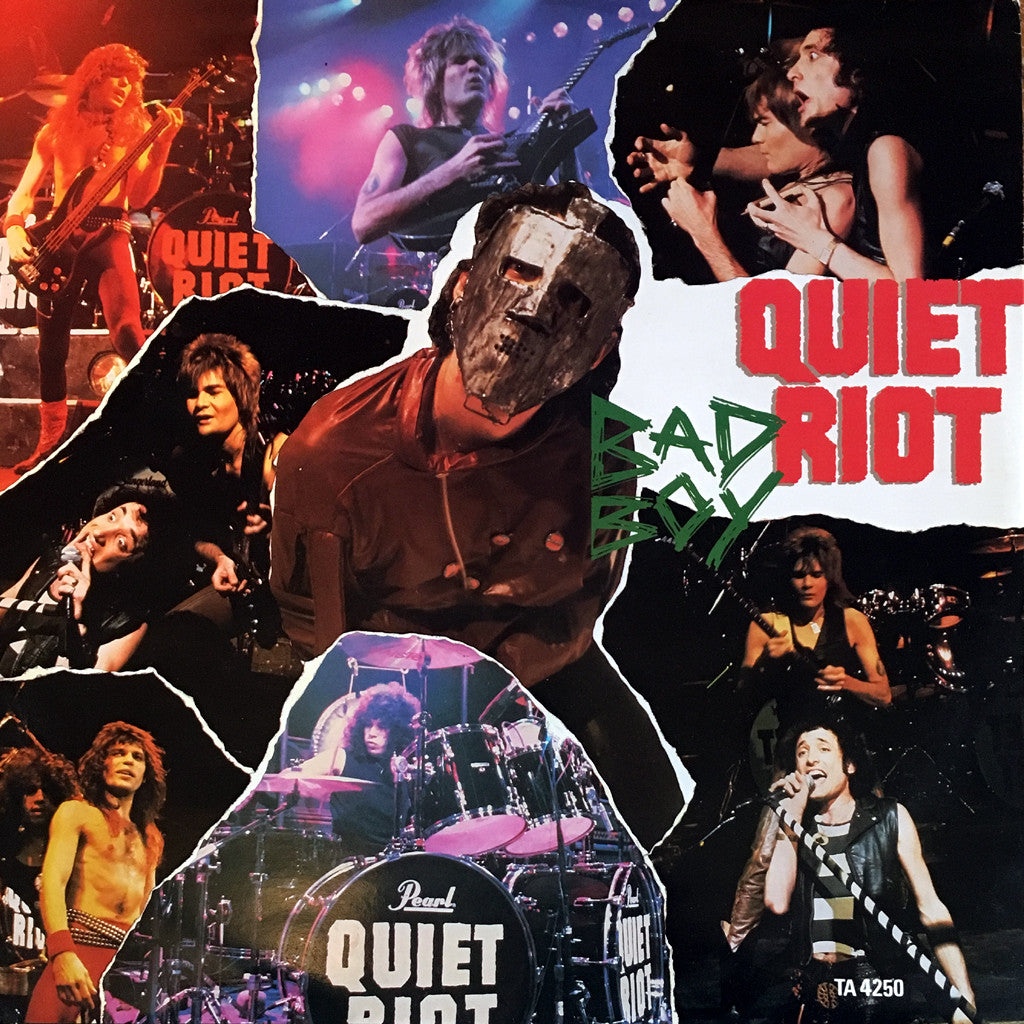 Quiet Riot Bad Boy-Metal Health 12 inch single