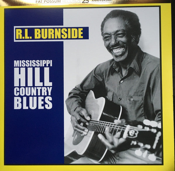 RL Burnside Mississippi Hill Country Blues - vinyl LP