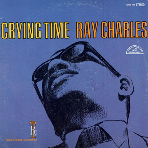 Ray Charles Crying Time - vinyl LP