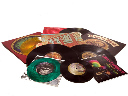 GravelRoad vinyl LP pack plus 7 inch 45s