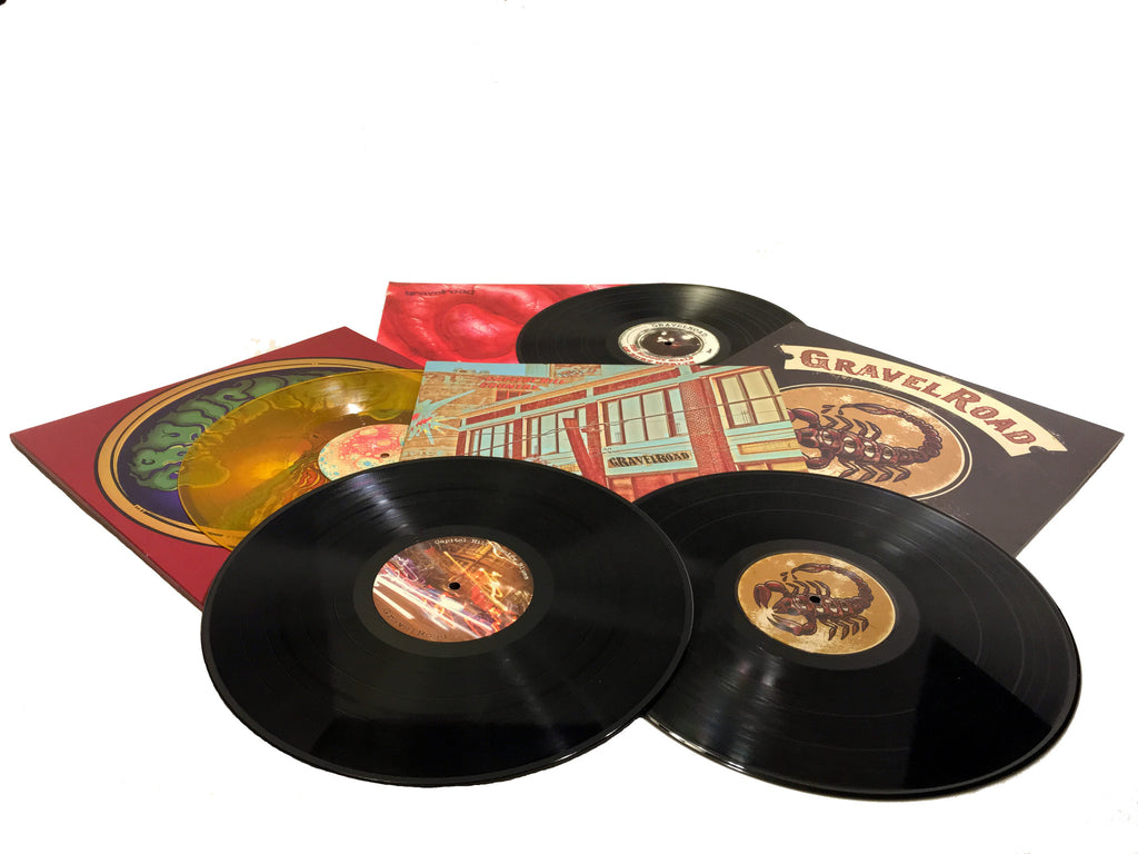 GravelRoad vinyl LP pack