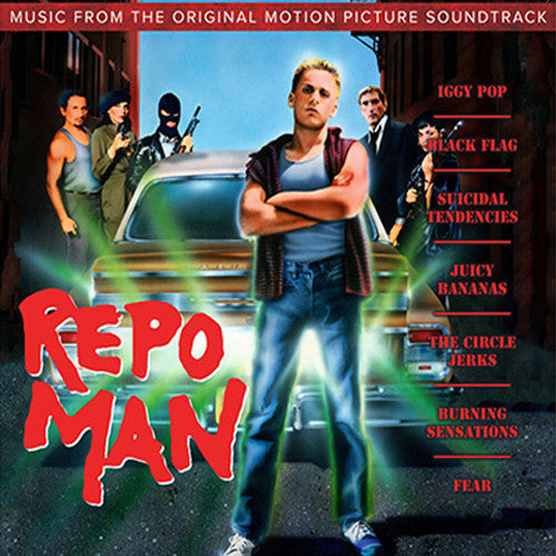 Repo Man motion picture soundtrack - cassette