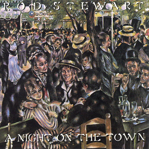 Rod Stewart A Night On The Town - vinyl LP