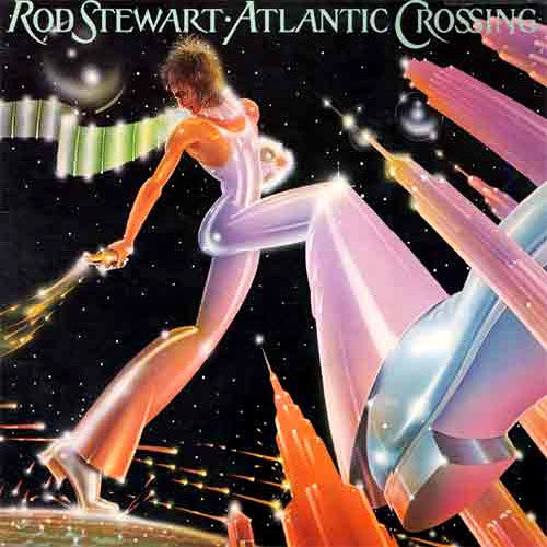 Rod Stewart Atlantic Crossing - vinyl LP
