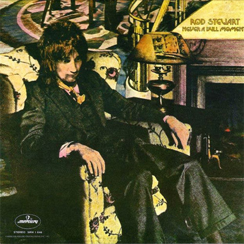 Rod Stewart Never A Dull Moment - vinyl LP