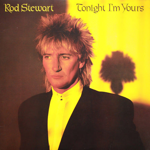 Rod Stewart Tonight I'm Yours - vinyl LP