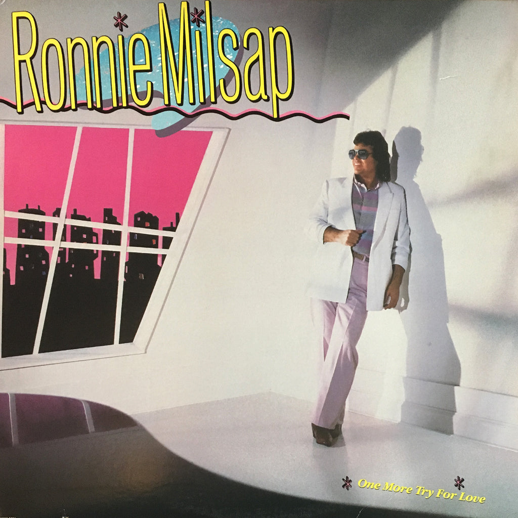 Ronnie Milsap One More Try For Love - vinyl LP