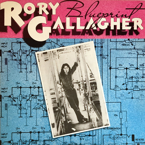 Rory Gallagher Blueprint - vinyl LP