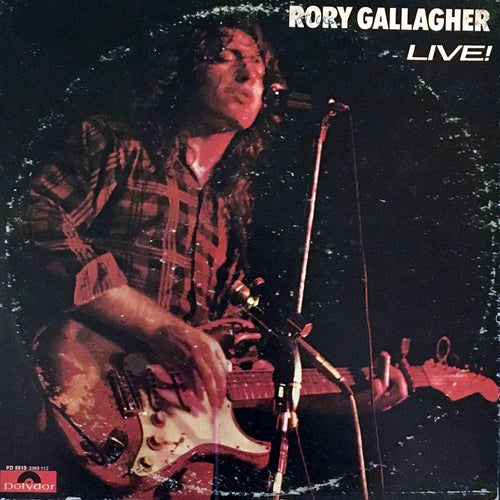 Rory Gallagher Live! - vinyl LP